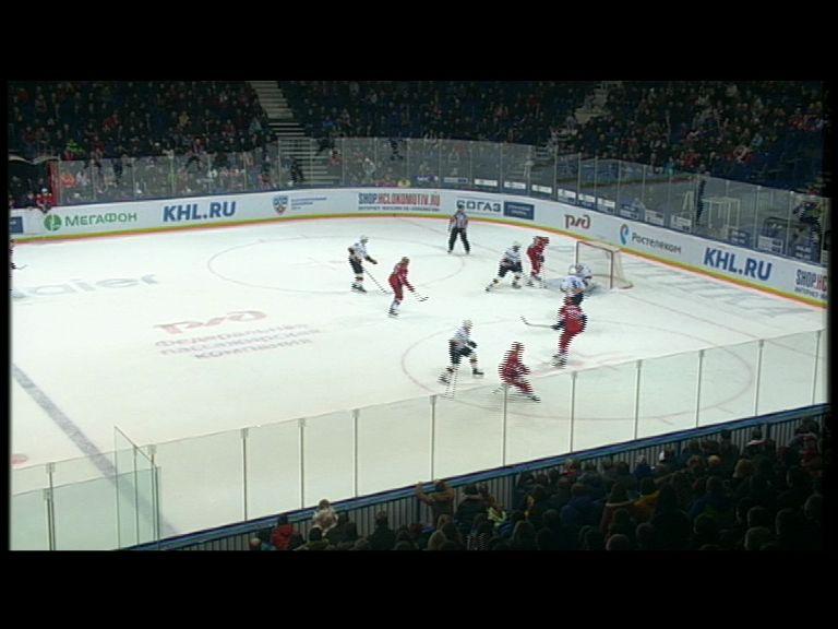 «Локомотив» впервые в сезоне обыграл «Северсталь»