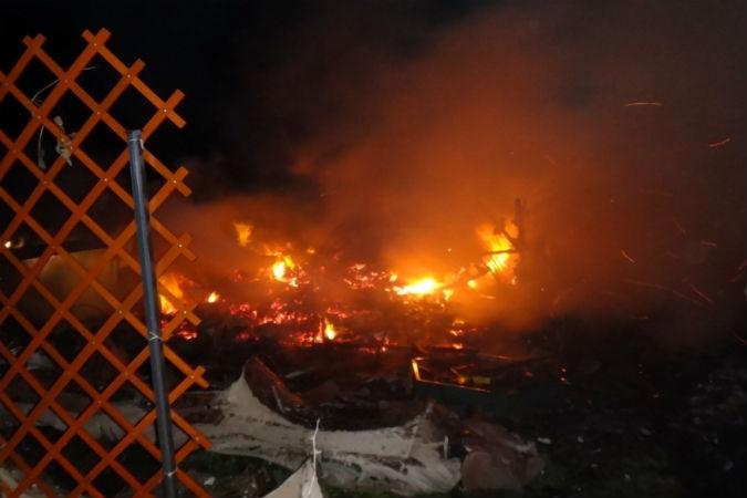 47-летний мужчина сгорел в машине в Ярославском районе