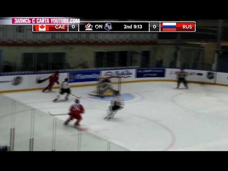 Юниорская сборная России вышла в полуфинал Кубка Вызова