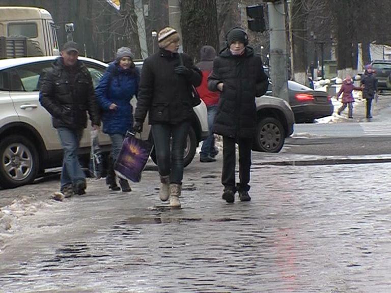 Из-за гололеда увеличилось число ярославцев, получивших ушибы и переломы