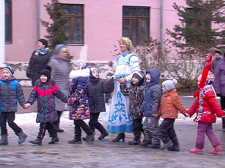 В Данилове провели праздник для малышей