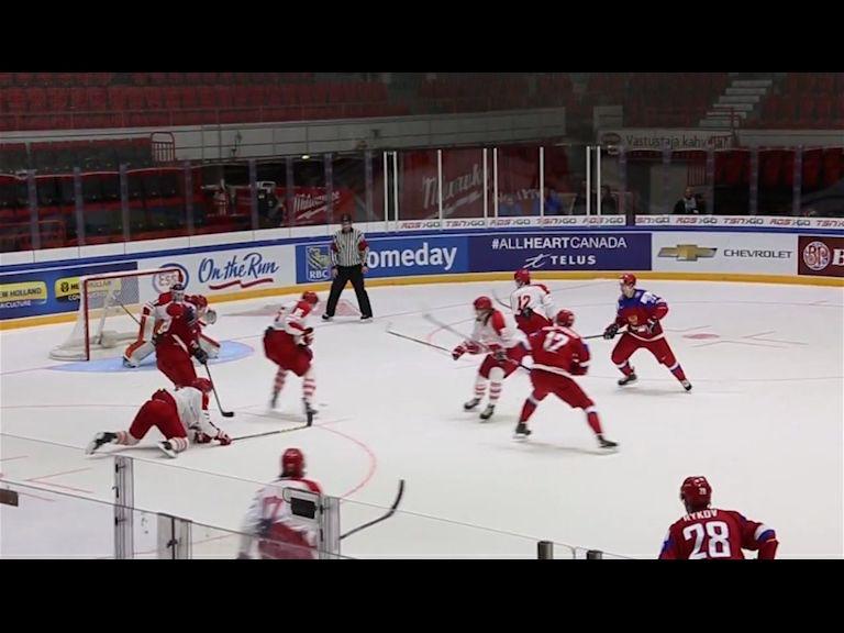 Оглашен окончательный состав молодежной сборной России
