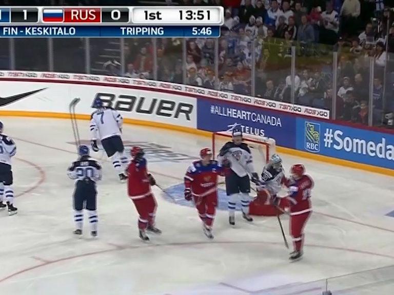 Ярославские хоккеисты отличились в составе молодежной сборной России