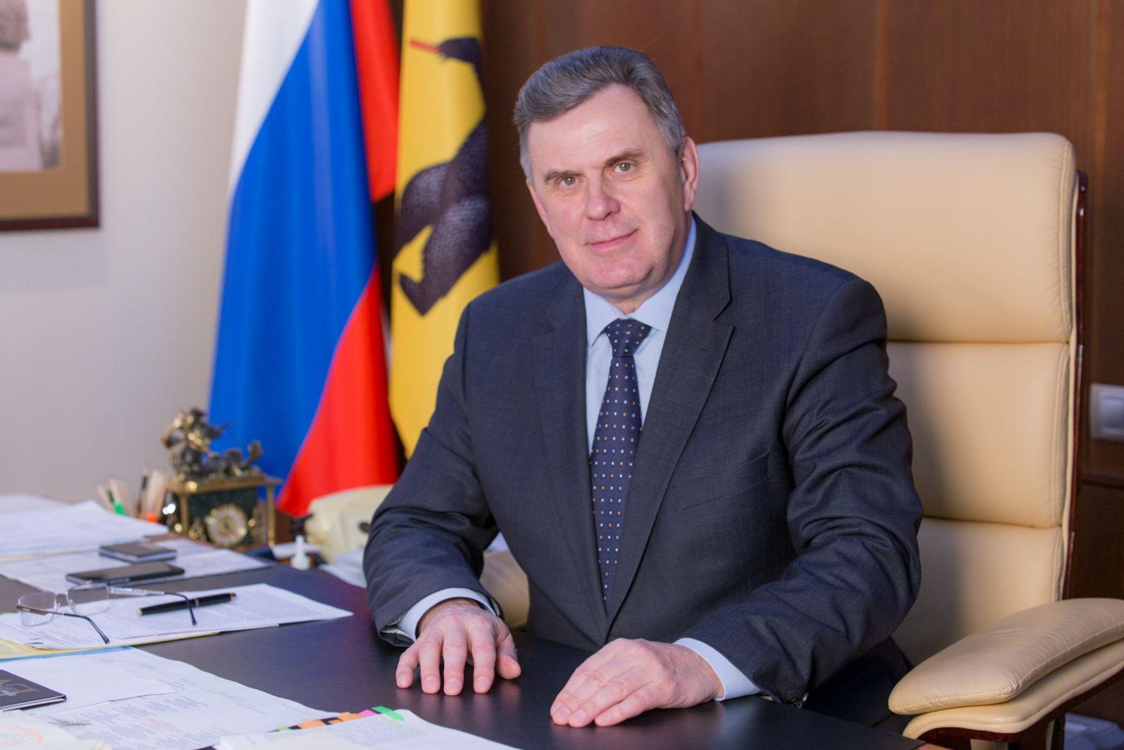 Сергей Ястребов поздравил ярославцев с Новым годом