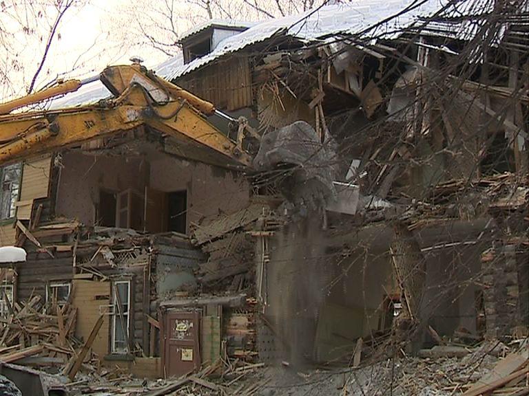 Аварийные дома в Ярославле один за другим идут под снос