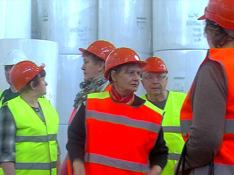 Бумажный завод в Семибратово провел экскурсию для жителей
