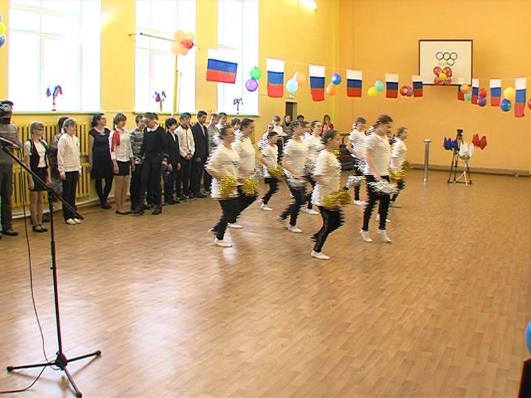 В Спасской общеобразовательной школе открыли обновленный спортивный зал