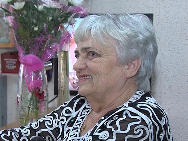 Ровесница региона - ветеран войны Лилия Чистякова отмечает 80- летний юбилей