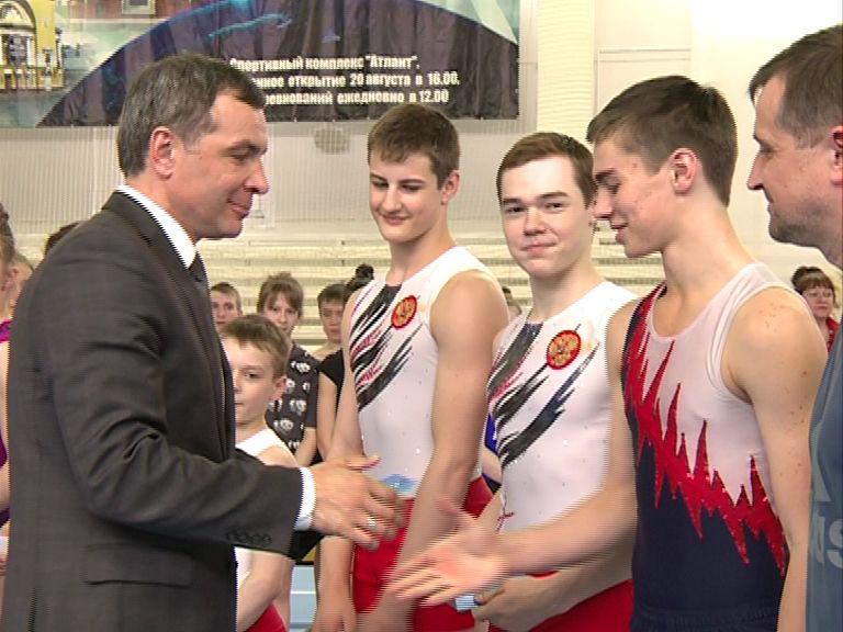 Алексей Малютин поздравил ярославских акробатов с успешным выступлением на чемпионате Мира