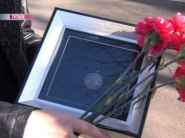 В преддверии Дня Победы медаль «За отвагу» солдата Кокунова передали его родным