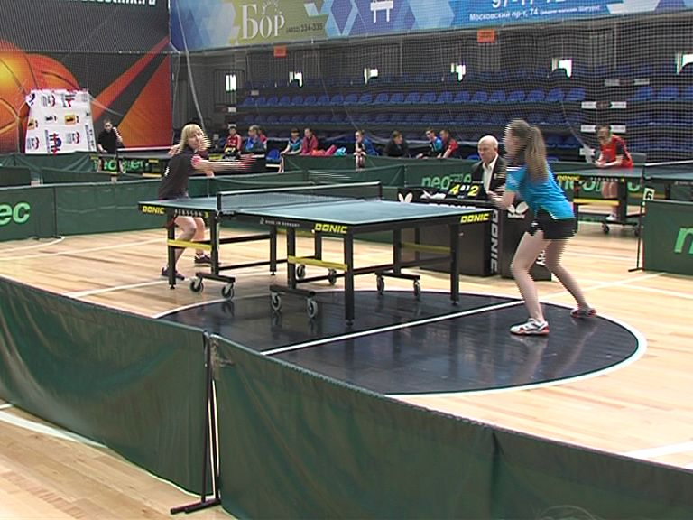 В Ярославле стартовал всероссийский турнир по настольному теннису