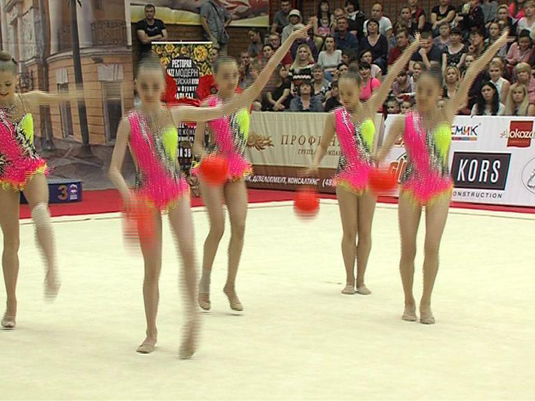 Международный турнир по художественной гимнастике стартовал в Ярославле