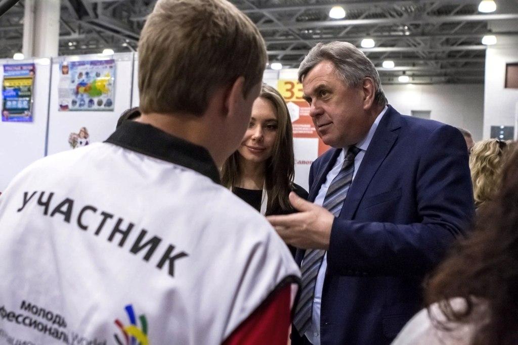 Сергей Ястребов пожелал ярославским участникам удачи в финале чемпионат WorldSkills Russia