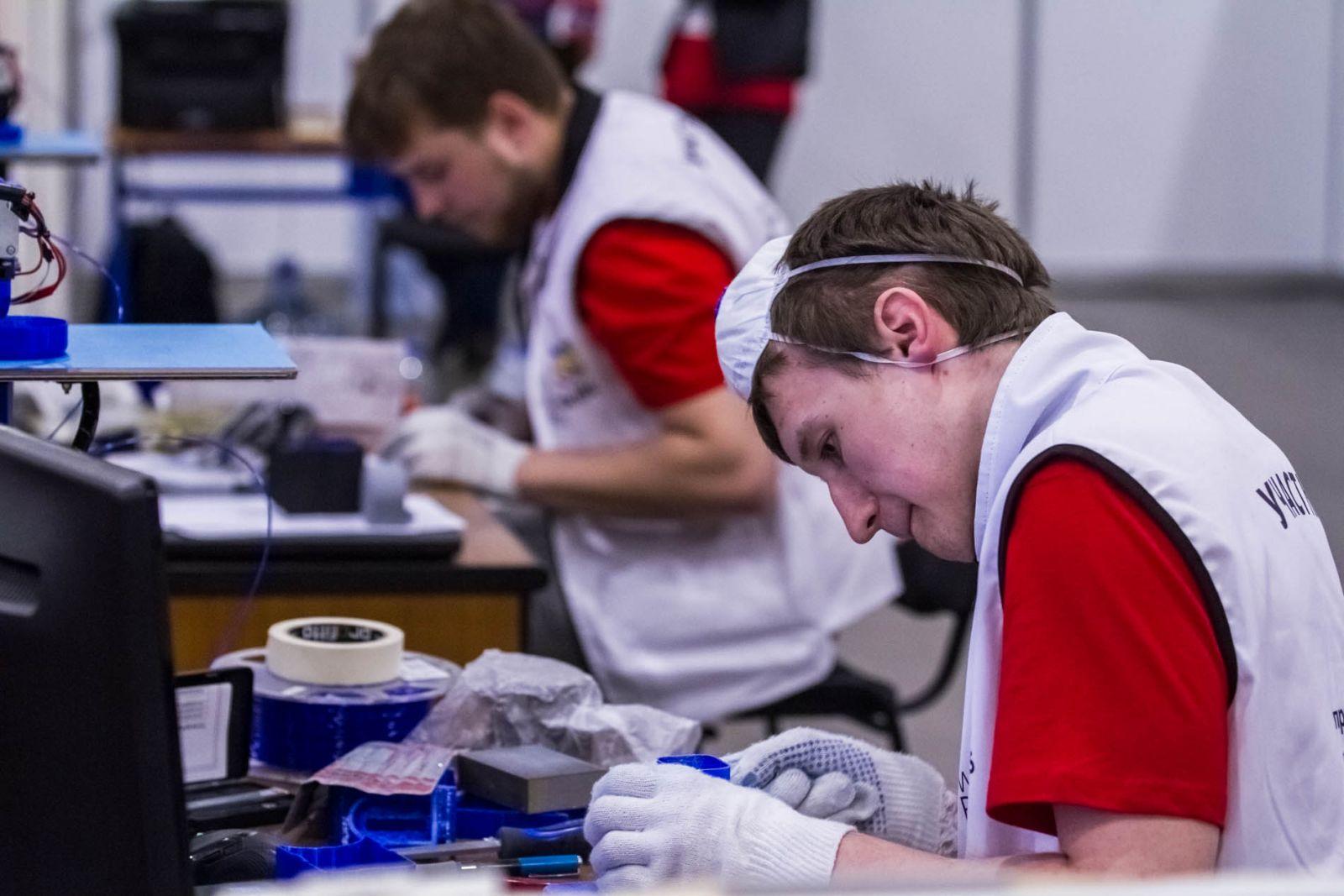 Пять ярославцев завоевали золотые медали национального чемпионата WorldSkills Russia