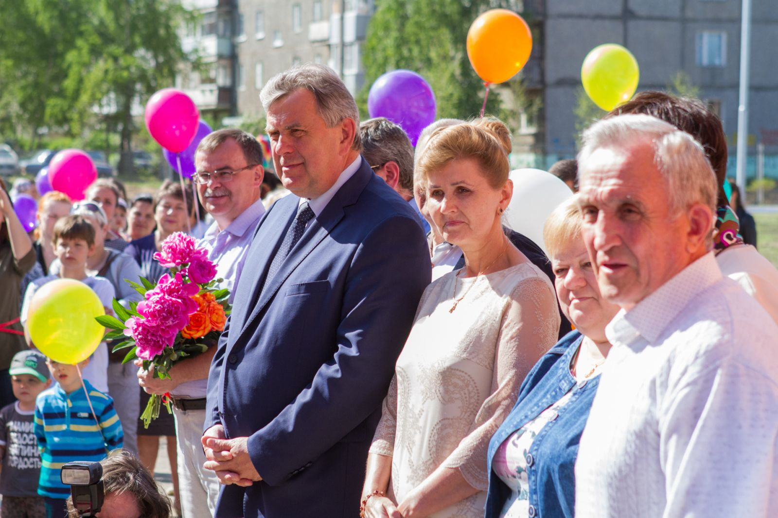 Сергей Ястребов открыл детский сад в Ивняках