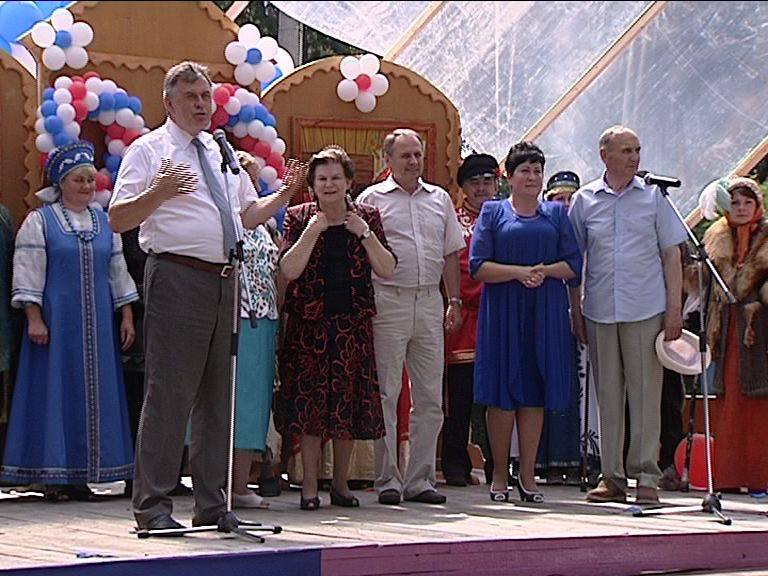 Жители Кукобоя отпраздновали юбилей села