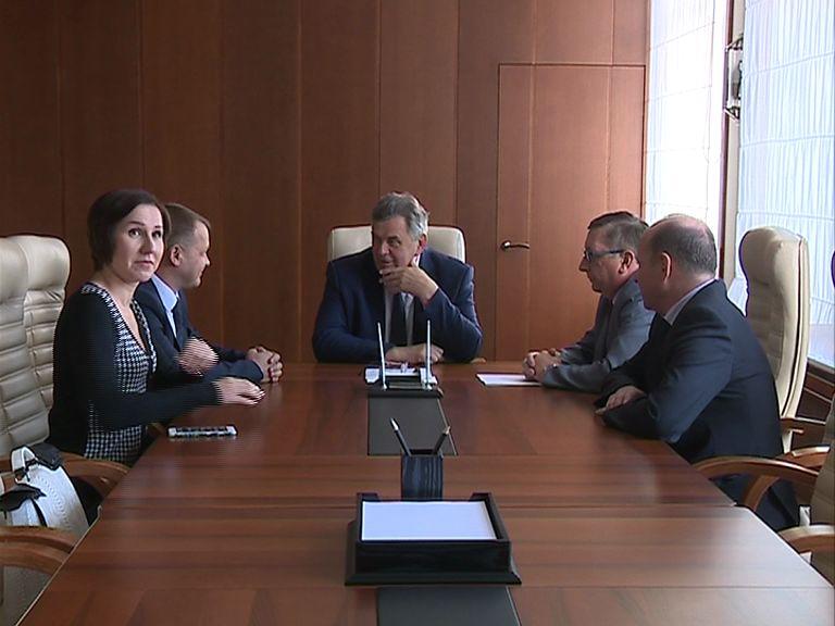 Сергей Ястребов встретился с новым директором пивоваренного завода