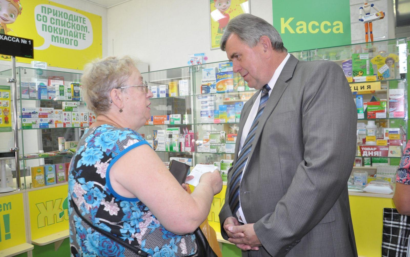 Сергей Ястребов устроил рейд по ярославским аптекам