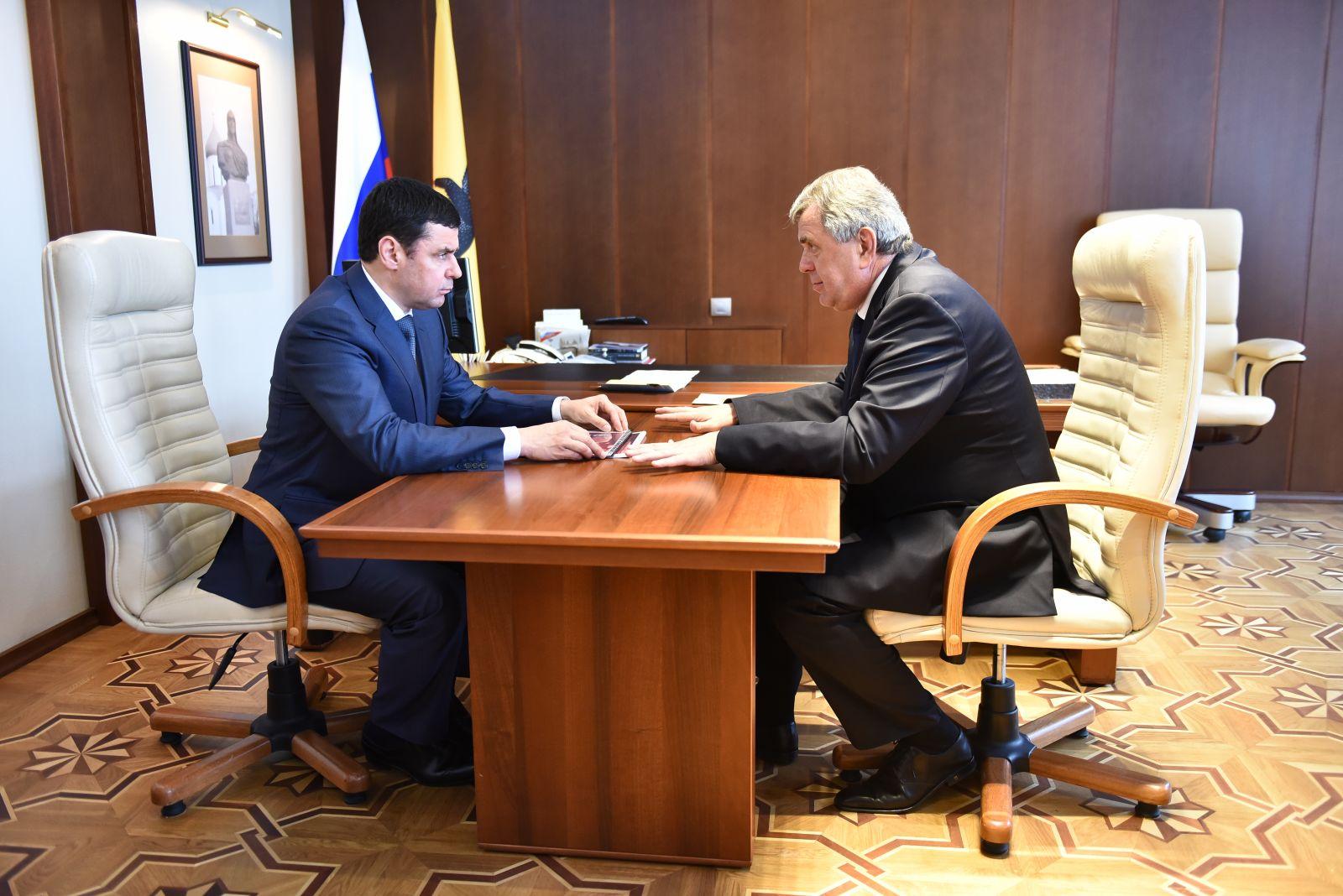 Сергей Ястребов представлен к госнаграде и будет работать в федеральных структурах
