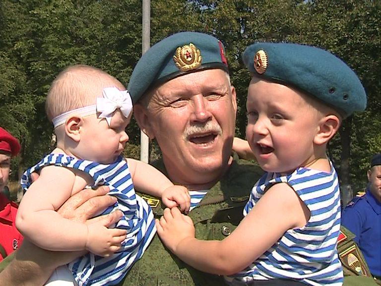 Ярославль отмечает День воздушно-десантных войск
