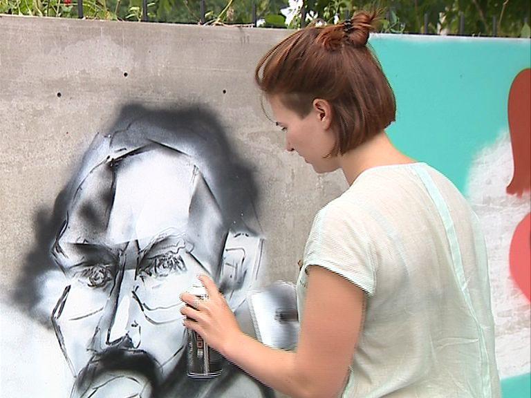 В Ярославле впервые проходит уникальный фестиваль граффити