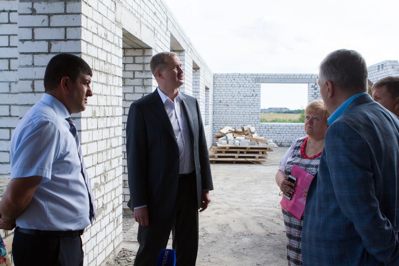 Детский сад в Угличском районе достраивают в ускоренном режиме