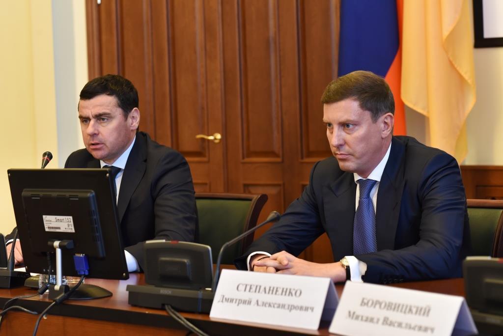 Дмитрий Миронов представил и. о. председателя регионального правительства Дмитрия Степаненко