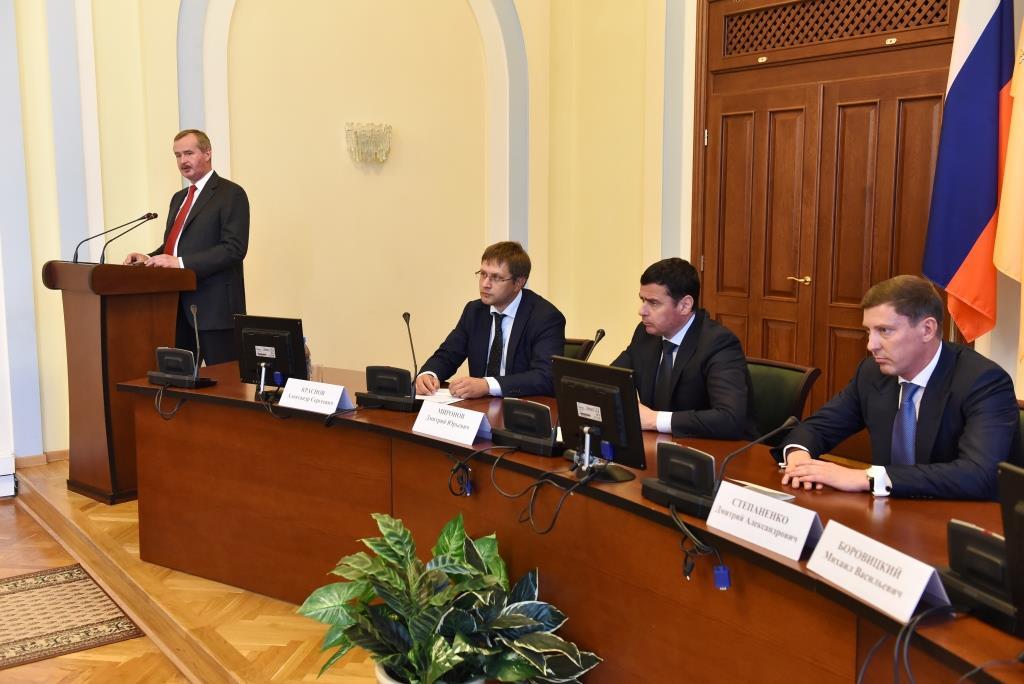 Александр Князьков назначен на должность и.о заместителя губернатора по взаимодействию с федеральными органами исполнительной власти