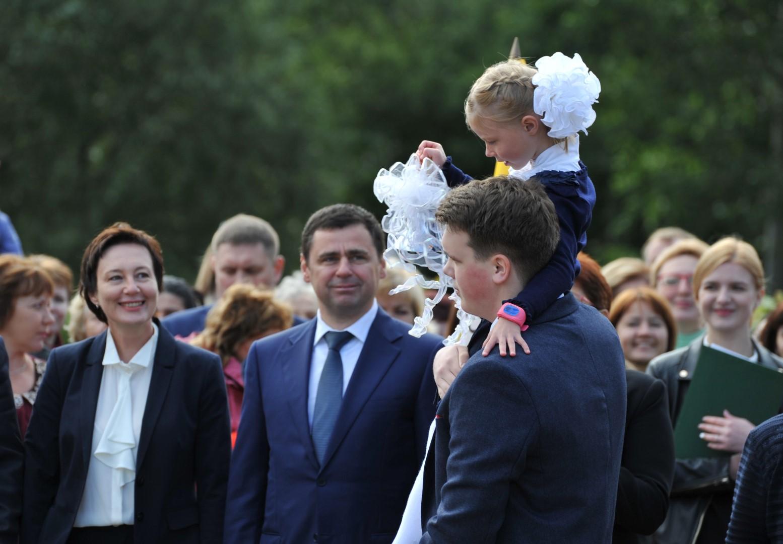 1 сентября в Ярославле: танцы, песни и поздравления Дмитрия Миронова
