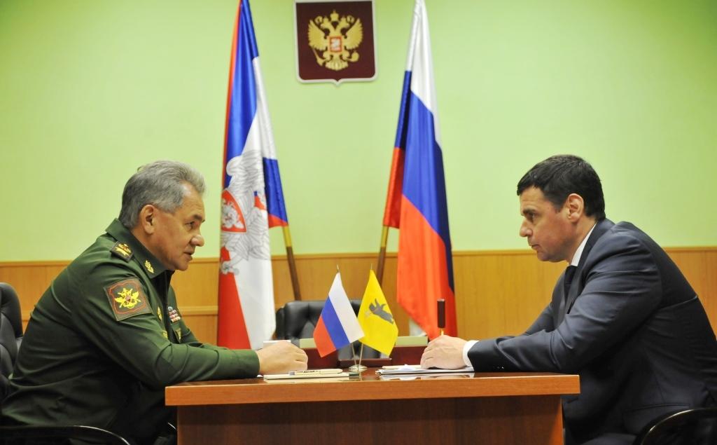 Сергей Шойгу отметил качественное выполнение оборонзаказа в Ярославской области