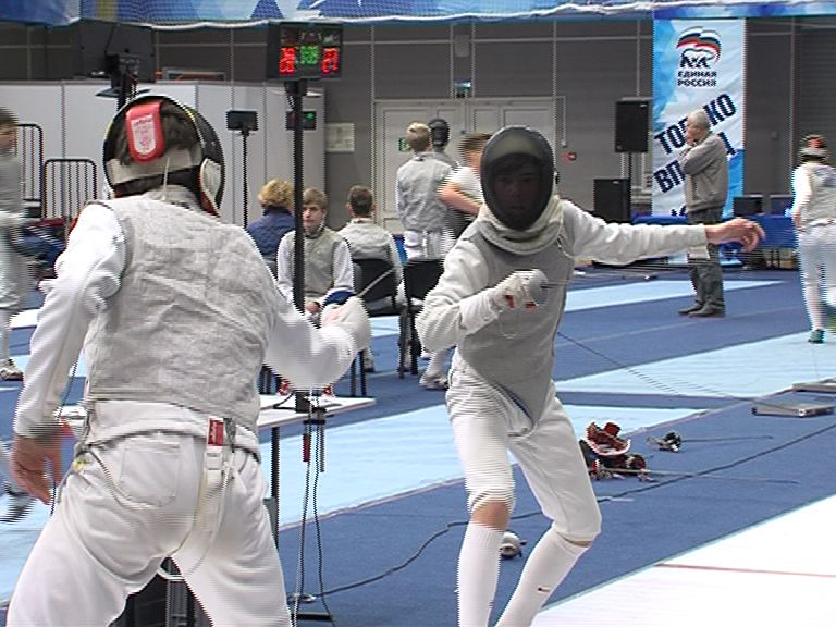 В Ярославле завершился всероссийский юношеский турнир по фехтованию