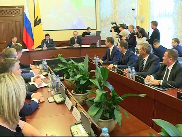 В Ярославле представили новую структуру органа исполнительной власти