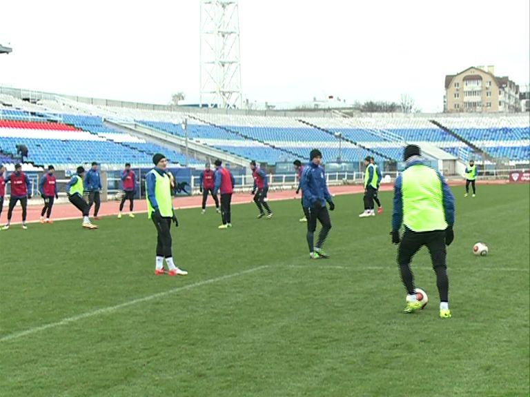 «Шинник» готовится к матчу с «Динамо»