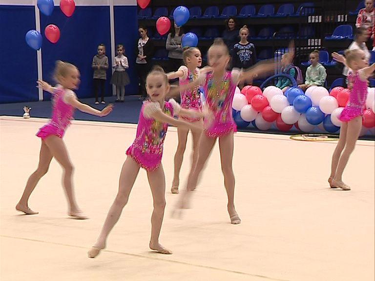 В Ярославле стартовал турнир по художественной гимнастике