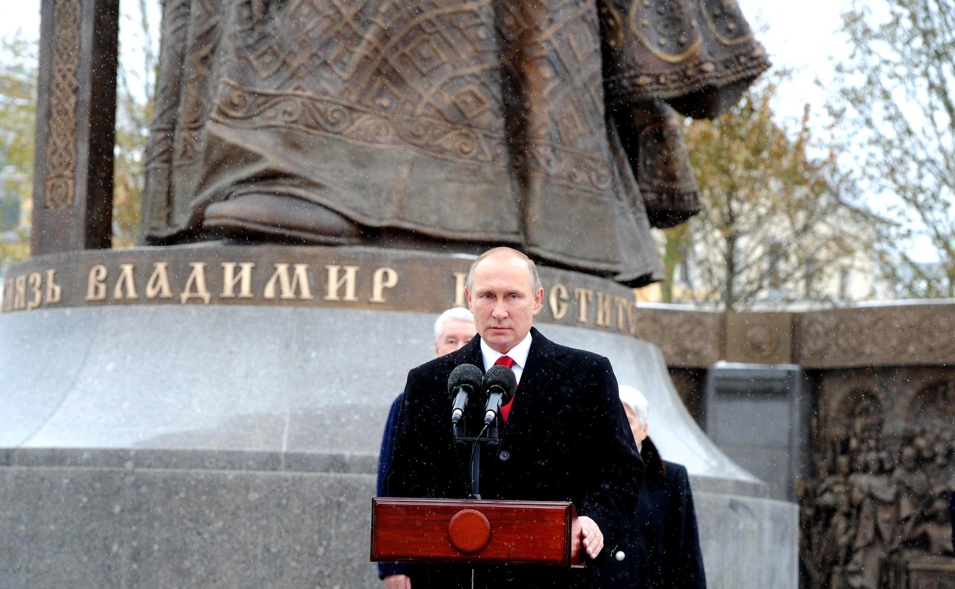 В Ярославль прилетел президент страны Владимир Путин