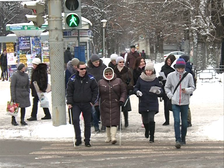 В Ярославле проходит акция «Белая трость»
