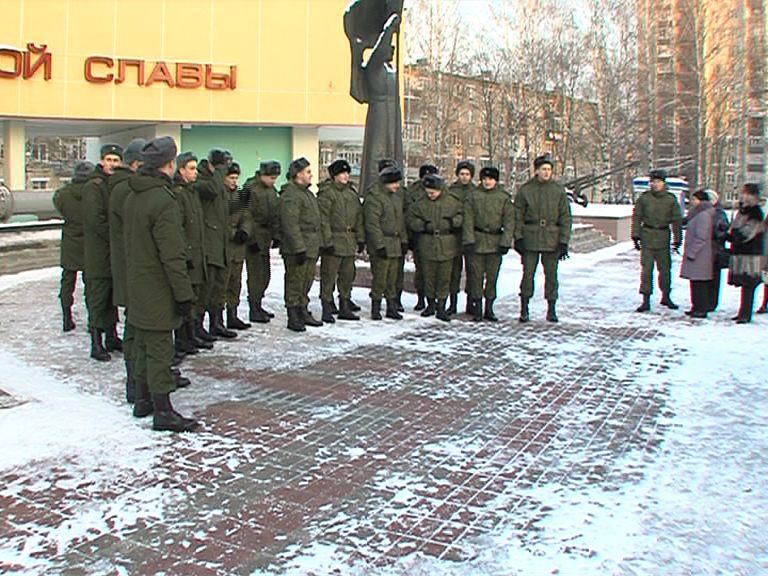 15 призывников из Ярославля будут служить в президентском полку