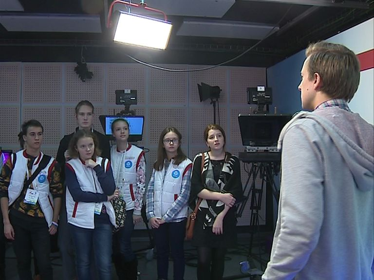 Юные журналисты со всей России посетили «Первый Ярославский»