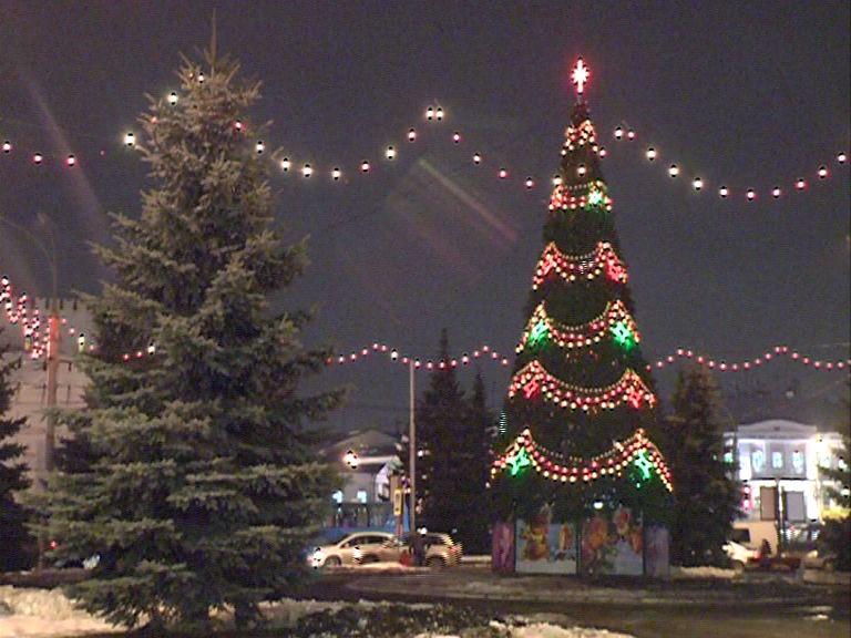 Стало известно, где установят новогодние елки в Ярославле