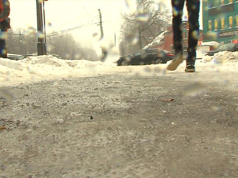 В Ярославской области вновь ожидается ледяной дождь