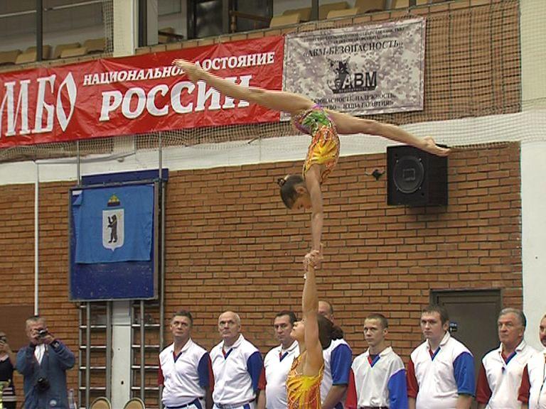 Ярославские акробатки стали обладательницами Кубка России