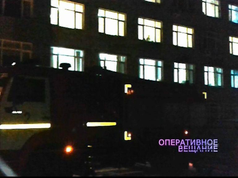 В онкологической больнице в одной из палат замкнуло проводку