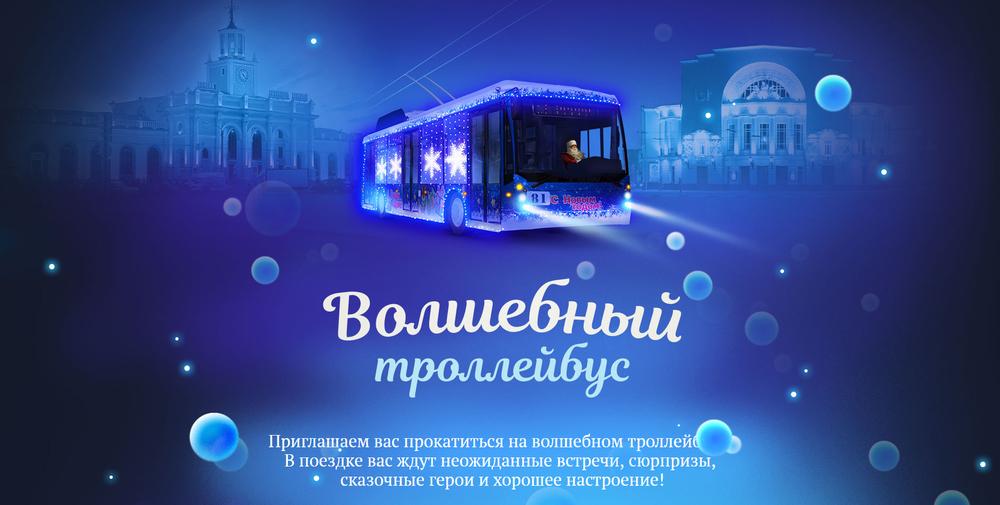 Ярославцы смогут записаться на рейс «Волшебного троллейбуса»