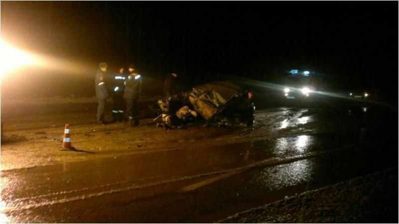 Легковушка влетела под грузовик «Вольво»: трое погибших