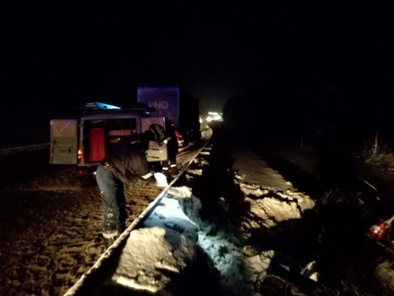 ДТП в Даниловском районе: погибла 26-летняя женщина, двое детей в больнице
