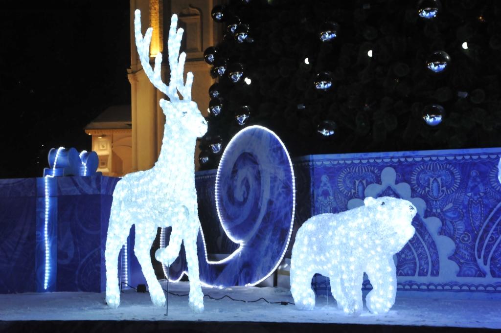 На Советской площади пройдет репетиция открытия Новогодней ярмарки
