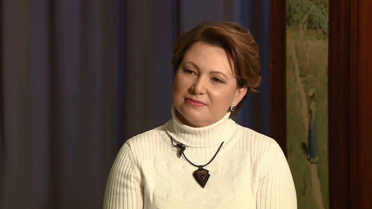 ЖЕНЩИНА В ПРОФИЛЬ: Ольга Березина