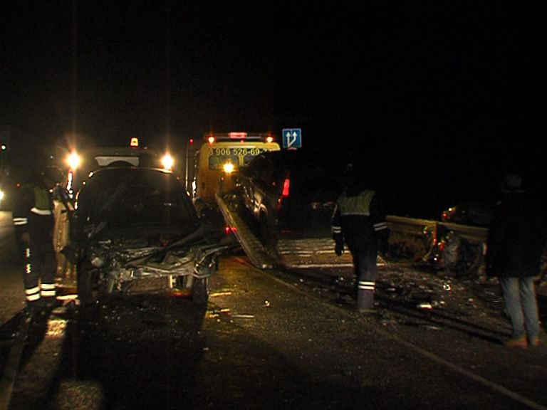 Три автомобиля столкнулись на въезде в Ярославскую область