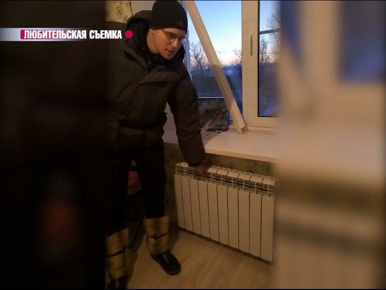 Житель поселка Семибратово жалуется на холодные батареи