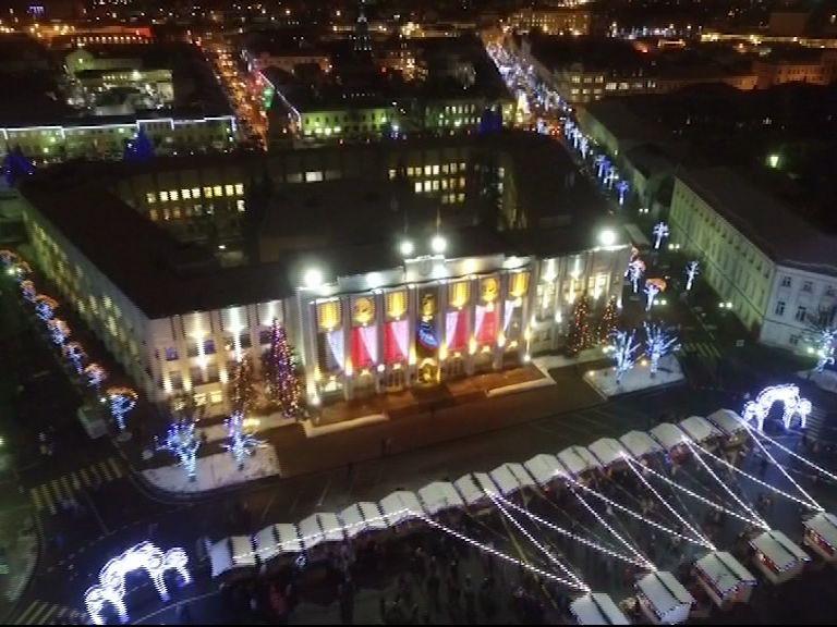 Церемонию открытия новогодней ярмарки на «Первом Ярославском» посмотрел каждый 10 житель региона